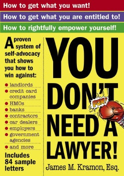 You Don't Need a Lawyer (Paperback)