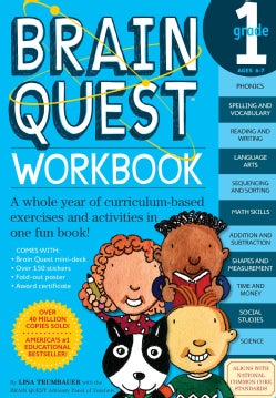 Brain Quest Workbook Grade 1 (Paperback)
