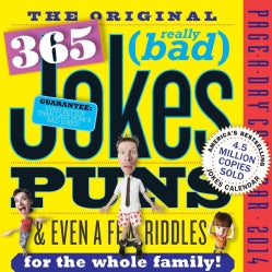 The Original 365 Jokes, Puns & Even a Few Riddles 2014 Calendar (Calendar)