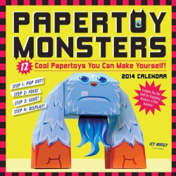 Papertoy Monsters 2014 Calendar (Calendar)