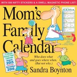 Mom's Family 17-Month School 2015-2016 Calendar (Calendar)