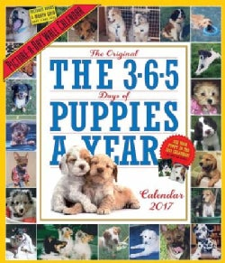 The 365 Puppies-a-year Picture-a-day 2017 Calendar (Calendar)
