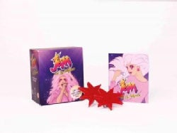 Jem and the Holograms Light-up Synergy Earrings & Illustrated Book