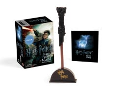 Harry Potter Wizard's Wand With Sticker Book: Lights Up!