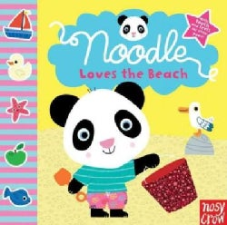 Noodle Loves the Beach (Board book)