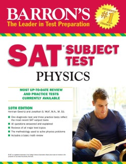 Barron&#39;s SAT Subject Test Physics (Paperback)