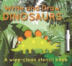 Write and Draw Dinosuars (Board book)
