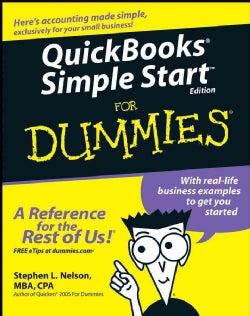 QuickBooks Simple Start for Dummies (Paperback)