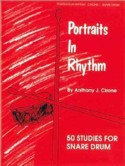 Portraits in Rhythm: 50 Studies for Snare Drum (Paperback)