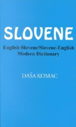 English-Slovene/Slovene-English Modern Dictionary (Paperback)