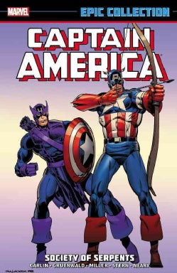 Captain America Epic Collection 12: Society of Serpents (Paperback)