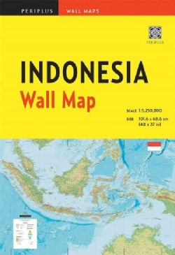 Indonesia Wall Map (Sheet map, folded)