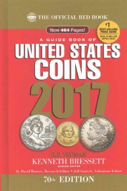 A Guide Book of United States Coins 2017: The Official Red Book (Hardcover)