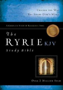 Ryrie Study Bible: King James Version, Red Letter
