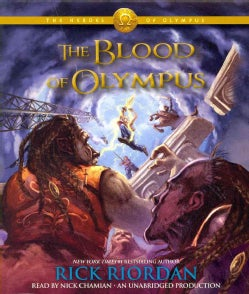 The Blood of Olympus (CD-Audio)