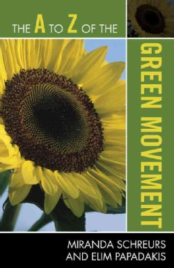 The A to Z of the Green Movement (Paperback)