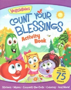 Veggietales Count Your Blessings Activity Book (Paperback)
