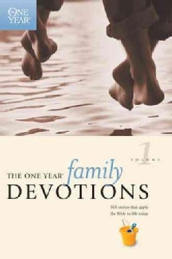 One Year Family Devotions (Paperback)
