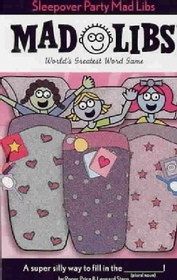 Sleepover Party Mad Libs (Paperback)