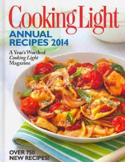 Cooking Light Annual Recipes 2014 (Hardcover)