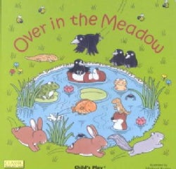 Over in the Meadow (Board book)