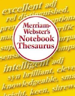 Merriam-Webster's Notebook Thesaurus (Paperback)