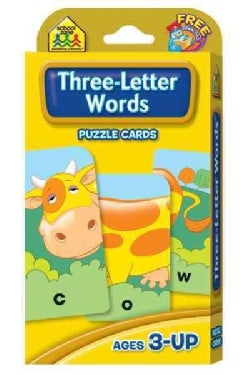 Three-Letter Words: Puzzle Card (Paperback)