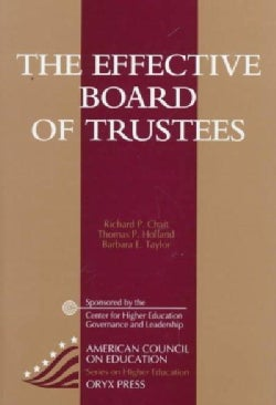 The Effective Board of Trustees (Paperback)