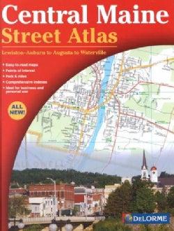 Central Maine Street Atlas (Paperback)