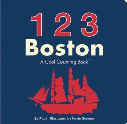 123 Boston: A Cool Counting Book (Board book)