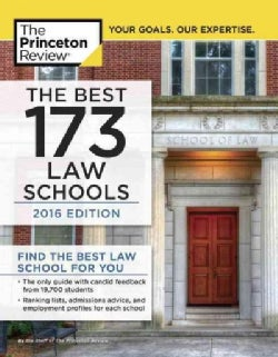 The Best 173 Law Schools, 2016 Edition (Paperback)