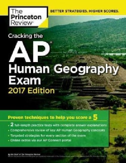 Cracking the AP Human Geography Exam 2017 (Paperback)
