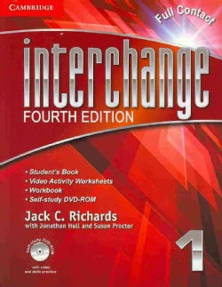 Interchange Full Contact Level 1/ Self-Study Level 1 DVD-ROM