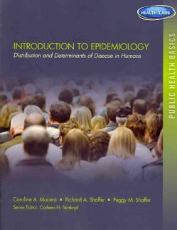 Introduction to Epidemiology: Distribution and Determinants of Disease in Humans (Paperback)