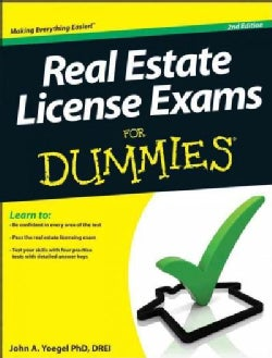 Real Estate License Exams for Dummies (Paperback)
