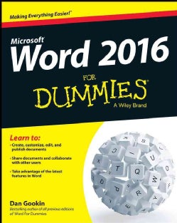 Word 2016 for Dummies (Paperback)