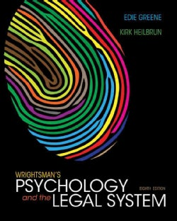 Wrightsman's Psychology and the Legal System (Other book format)
