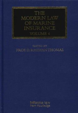 The Modern Law of Marine Insurance (Hardcover)