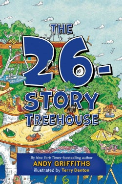 The 26-Story Treehouse (Hardcover)