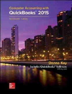 Computer Accounting With Quickbooks 2015 (Paperback)