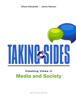 Taking Sides: Clashing Views in Media and Society (Paperback)
