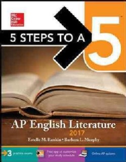 5 Steps to A 5 Ap English Literature 2017 (Paperback)