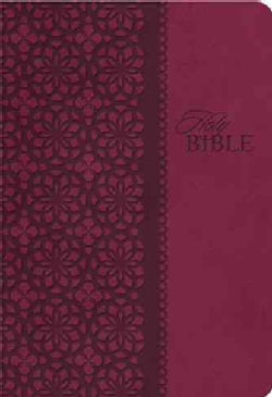 The King James Study Bible: King James Version, Cranberry Leathersoft (Paperback)