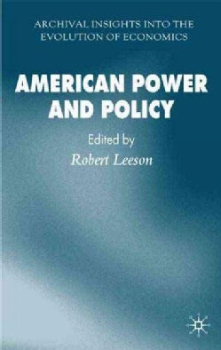 American Power and Policy (Hardcover)