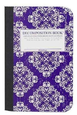 Victoria Purple Pocket-Size Decomposition Book: College-ruled Composition Notebook With 100% Post-con... (Notebook / blank book)