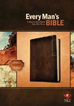 Every Man's Bible: NLT Deluxe Explorer Edition (Paperback)