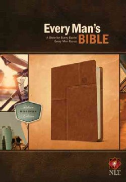 Every Man's Bible: NLT Deluxe Messenger Edition (Paperback)