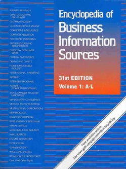 Encyclopedia of Business Information Sources (Paperback)