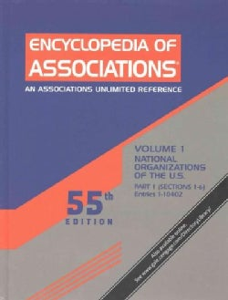 Encyclopedia of Associations: An Associations Unlimited Reference (Hardcover)