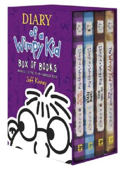 Diary of a Wimpy Kid Box of Books: Books 5-7 & the Do-it-yourself Book (Hardcover)